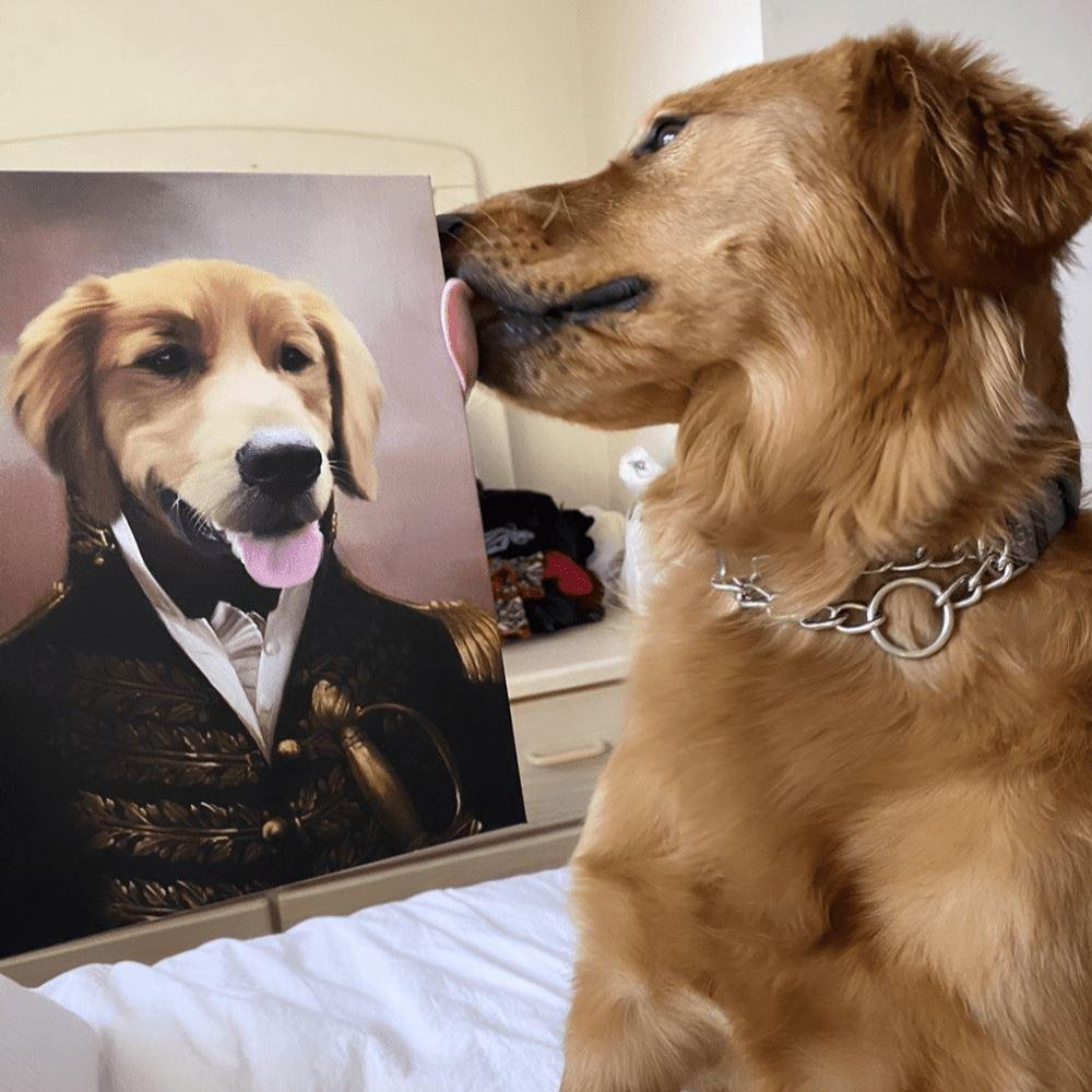 Pet Paintings: Paint It On The Canvas