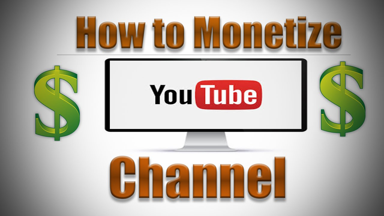 Click the buy monetized YouTube channel button and keep the audience's interest