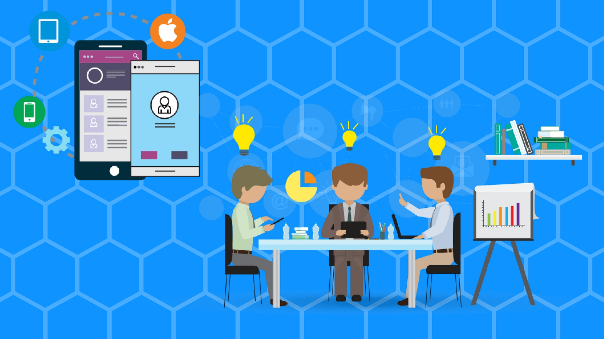 Mobile Development Company social networking features